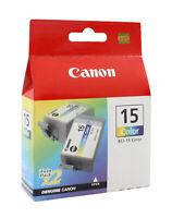 Canon BCI-15 Tri-Color Ink Cartridge 8191A003 Genuine New
