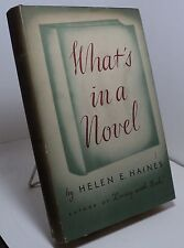 What's in a Novel by Helen E Haines - 1942 - pwe5