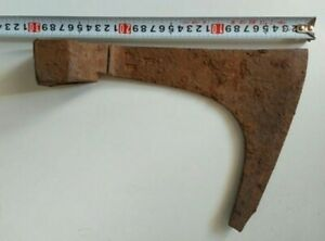 Battle Axe Ancient Rare Iron Authentic Viking Kievan Rus - 30 cm - 1119 g