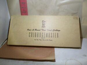 DRUEKE CRIBBAGEMASTER , ONCE AROUND BOARD MODEL 1950 , NEW IN OPEN BOX!