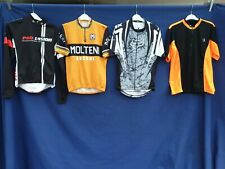 Joblot 4 x Cycling Jersey tops Quick Dri Size Med  Adults top #B54
