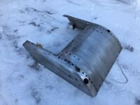 1968 1969 Arctic Cat Panther Cougar Snowmobile Body Chassis Belly Pan 106-34