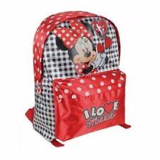 Minnie Mouse Backpack-Disney Minnie Mouse School Bag - I Love Minnie