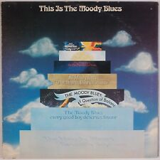 THE MOODY BLUES: This is the Moody THRESHOLD 2x LP USA Vinyl PROG