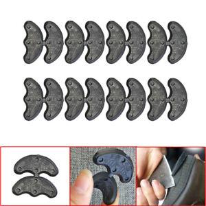 40Pcs/20 Pairs Rubber Heel Savers Toe Plates Tap DIY Shoe Repair Pad