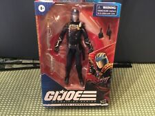 NEW G.I. JOE CLASSIFIED SERIES COBRA COMMANDER!!