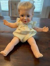 "Vintage Hasbro 1985 Real Baby Doll 21"" Realistic Weighted J Turner Original Outf"