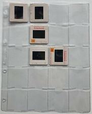 LOT DE 10 FEUILLES FORMAT A4 20 CASES POUR RANGER CLASSER VOS DIAPOSITIVES !