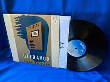 Ultravox LP Rage in Eden Chrysalis CHR 1338 Inner Sleeve 1981