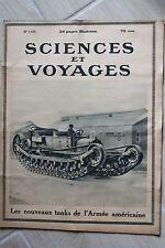 Sciences et voyages 148 de 1922 Armes Américaine , Canne de Golf , Le Thé