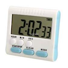 Reloj Temporizador De Cocina Digital Pantalla Grande LCD Alarma Contador 24Horas