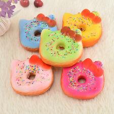Kawaii Sprinkles Kitty Donut Squishy Slowing Rising Kawaii Toy Gift Soft Press