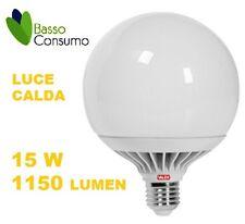 LAMPADINA LED GLOBO ATTACCO E27 LUCE CALDA 15W 1150 LUMEN CLAS. A+ VALEX 1155199