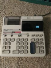Texas Instrument calculator TI-5045II 2 Color Printer adding Machine 12 digits