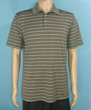 f95c2da7 NWOT Champion DUO Dry Gray Polo Golf Shirt Size M Medium (A7)