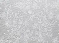Elegant Floral Lace White Plastic Tablecloth Wedding Party Table Cover Rectangle