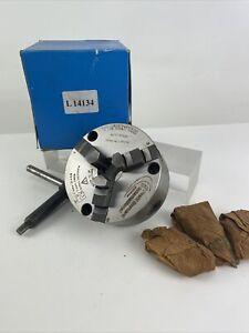 Pratt Burnerd 3 Jaw Scroll Chuck 100mm Super Precision 1210-01005
