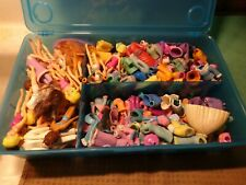 Huge Lot Polly Pocket 36 Boy Girl Doll 225+ Other Pieces Clothes Shoes Outfits