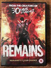 Miko Hughes, Grant Bowler REMAINS ~ 2011 Zombie Apocalypse Horror | UK DVD
