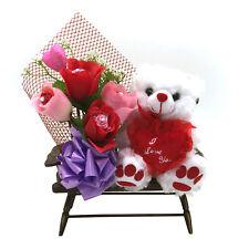 """""""I Love You"""" Teddy Bear On A Chair Plush NEW"""