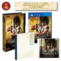 PSL Samurai Spirits (Samurai Shodown) PS4 LIMITED PACK+SOUND TRACK