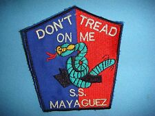 "VIETNAM WAR PATCH RESCUE OPERATION SS MAYAGUEZ "" DON'T TREAT ON ME """