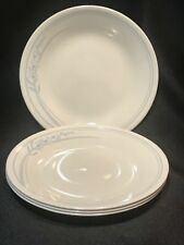 Corelle BLUE LILY Dinnerware Set of 4 Bread & Butter Plates ~ NICE!