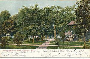 APPLETON WI – Appleton Park – udb – 1906