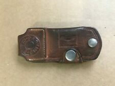 Chevrolet Chevy Leather Car Key Case Holder - Grand Motors Baltimore Maryland