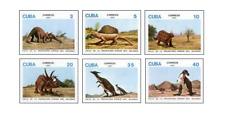 KUB8702 Dinosaurs 6 pcs MNH 1987