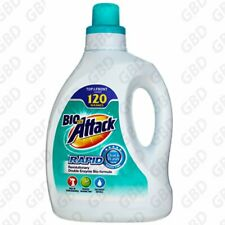 Biozet Attack rapid Laundry Liquid Front & Top 2.3L / 120 Washes