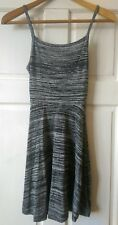 H&M Skater Dress, Size UK XS, Grey Marl, Brand New!