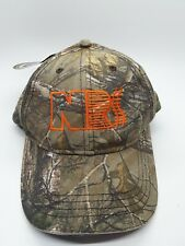 National Railway Supply Cap Hat By Realtree New With Tags Camo Free Shipping