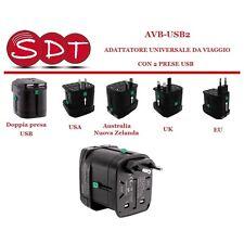 LAFAYETTE AVB-USB2 ADAPTADOR UNIVERSAL BOLSAS DE VIAJE CON 2 TOMAS USB