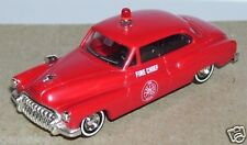 MICRO BUSCH HO 1/87 BUICK 1950 FIRE RESCUE FIRE CHIEF POMPIERS