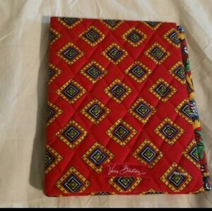 Vera Bradley  Picture Frame Holds 4x6 Photo Bifold Double Sided