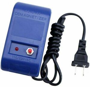 Watch Repair Screwdriver Tweezers Electrical Demagnetise Demagnetizer Tools US