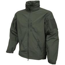Cappotti e giacche da uomo militanti verdi con cappucci