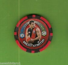 #T53. 2009 AFL CHIPZ TAZO, BRENT STANTON, ESSENDON BOMBERS