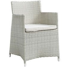 Modway Junction Dining Outdoor Patio Armchair - Gray White
