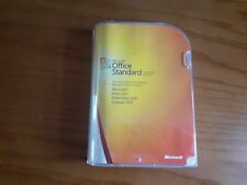 Genuine Microsoft Office 2007 Standard - Product Key DVD, Word Excel PowerPoint