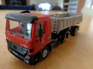 KIBRI - Camion semi-remorque benne