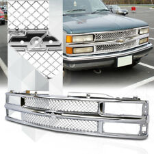 Chrome ABS Classic Mesh Grille/Grill for 94-99 Chevy C10 Suburban/Blazer/Tahoe