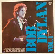Bob Dylan The Little White Wonder Vol. 1 LP Italia 1973