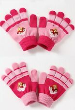 Girls Disney Princess Knitted Gloves One Size Fits 3-8 Years 800-081