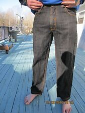 """RK RICH KIDS JEANS CO."" WASHABLE COTTON MEN'S JEANS -SZ 36""W X 32""L"