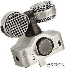 New ZOOM iQ7 MS Stereo Microphone for iPhone/iPad/iPod touch From Japan F/S