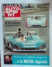 62268 Autosprint a. XIV n. 19 1974 - Ickx pilota di ventura vincente