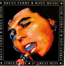 BRYAN FERRY / ROXY MUSIC street life: 20 great hits (CD album) EGCTV 1 pop rock