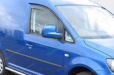 (24025) VW Caddy 2004-2017 Wind / Rain Deflectors 2 pcs Front Set Internal Fit